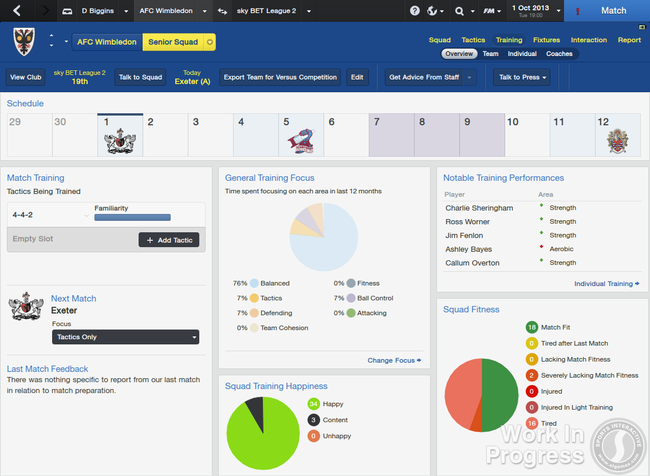 Football Manager 2014 announced, improved 3D match engine one of over 1,000 changes - photo 10