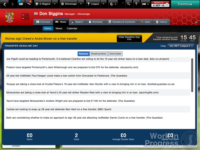 Football Manager 2014 announced, improved 3D match engine one of over 1,000 changes - photo 4