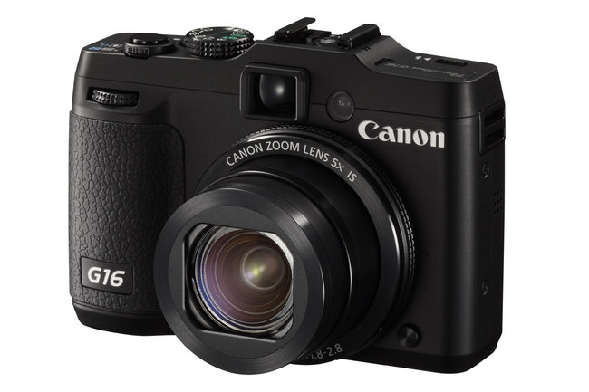 Canon PowerShot G16 announced: Faster AF, Digic 6 processor, intros Wi-Fi and new sensor - photo 1