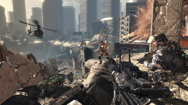 Call of Duty: Ghosts multiplayer preview: Hands-on with Blitz, Search and Rescue and Team Deathmatch - photo 1