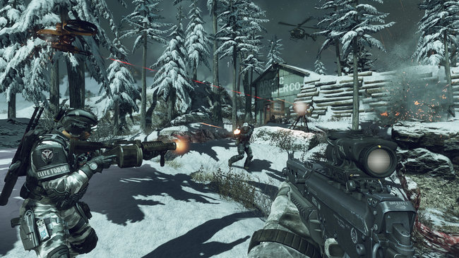 Call of Duty: Ghosts multiplayer preview: Hands-on with Blitz, Search and Rescue and Team Deathmatch - photo 2