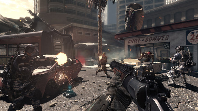 Call of Duty: Ghosts multiplayer preview: Hands-on with Blitz, Search and Rescue and Team Deathmatch - photo 3