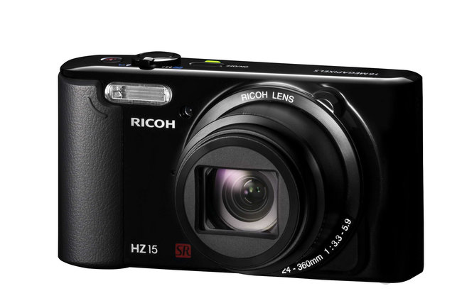 Ricoh offers HZ15 digital camera, 5 HD Pentax lenses and auto flash units - all in September - photo 1