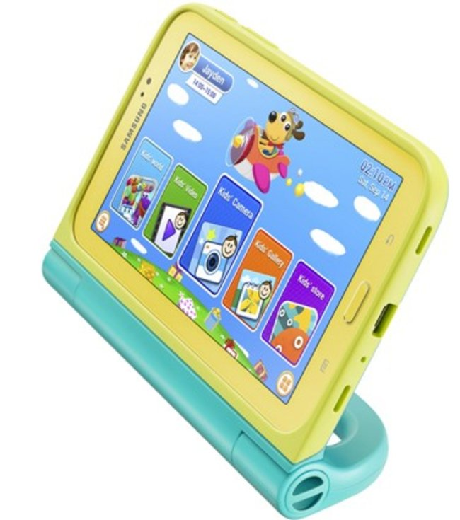 Fear drops no longer: Samsung Galaxy Tab 3 Kids offers Android 4.1 and colorful, rugged frame - photo 2