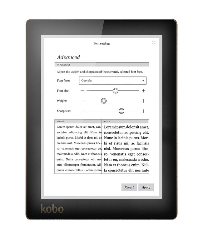 Kobo fills gap left by Barnes & Noble with new eBook reader and tablet line-up - photo 4