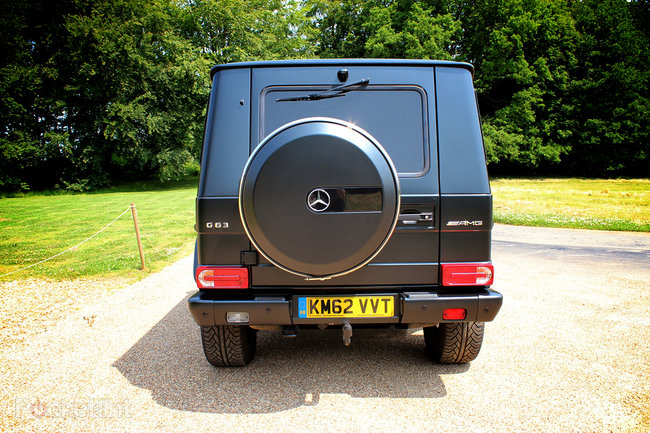 Hands-on: Mercedes G63 AMG review - photo 4