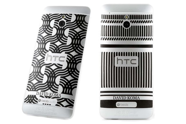 Limited Edition David Koma HTC One Mini says 'Here's To Change' - photo 1