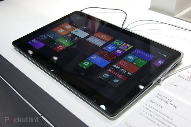 Sony Vaio Fit multi-flip PC makes IFA debut: We go hands-on with the laptop-meets-tablet - photo 2