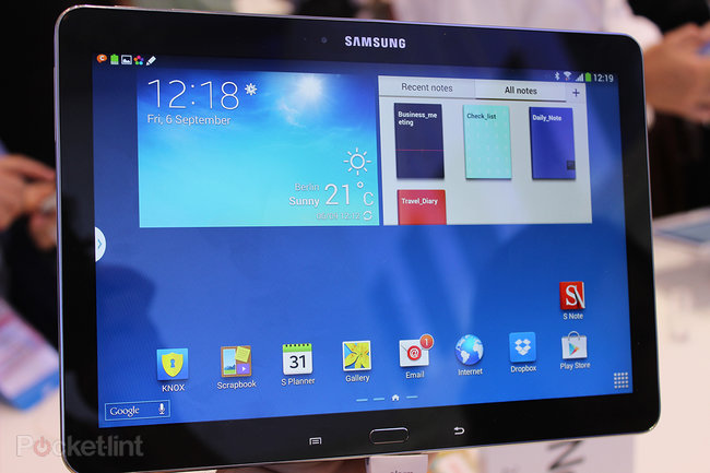 Samsung Galaxy Note 10.1 (2014) pictures and hands-on - photo 12