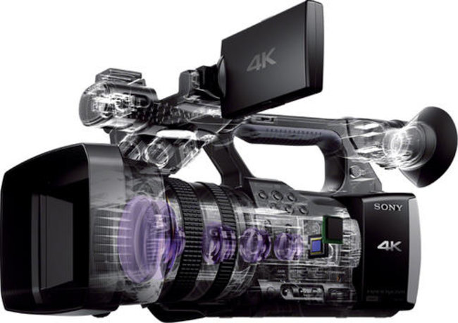 Sony Handycam FDR-AX1 shoots 4K video for $4.5K, lands in October - photo 3
