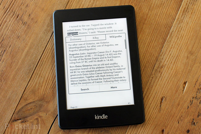 Amazon Kindle Paperwhite (2013) hands-on: Brighter, whiter, smarter - photo 2