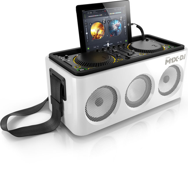 Philips M1X-DJ sound system rocks on to the scene, iPad dock and mixing decks in one - photo 2