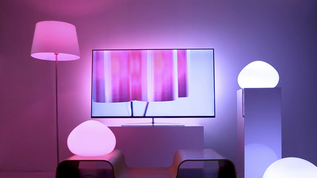 Philips Hue now compatible with Ambilight televisions: We go hands-on with 'surround illumination' - photo 2