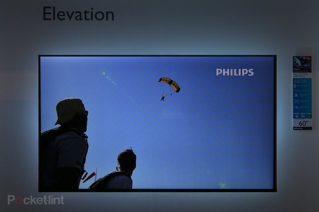 Philips Elevation: we take a look at the first television with four-sided Ambilight - photo 1
