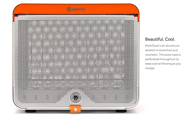 Griffin's redesigned MultiDock charger is for the gadget-obsessed, one space to charge 10 to 30 devices - photo 7