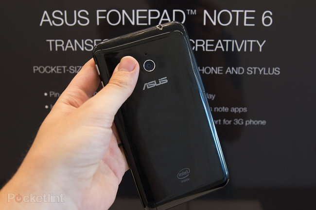 Asus PhonePad Note 6 hands-on: Bigger-than Galaxy Note, less aspirational feature set - photo 6