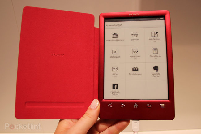 Sony Reader PRS-T3 pictures and hands on - photo 1