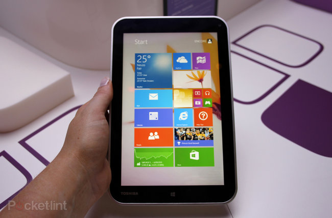 Toshiba Encore tablet pictures and hands-on - photo 1