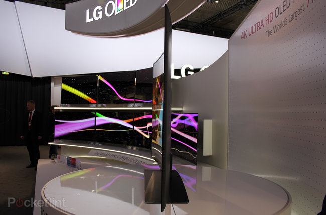 LG 77-inch 4K Ultra HD OLED TV pictures and eyes-on: Stunning - photo 14