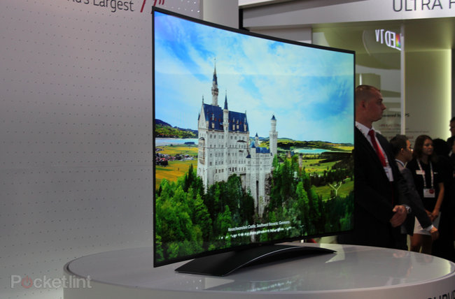 LG 77-inch 4K Ultra HD OLED TV pictures and eyes-on: Stunning - photo 8