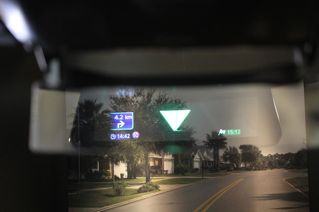 Pioneer NavGate HUD for smartphone navigation makes you feel like a jet fighter pilot - photo 2