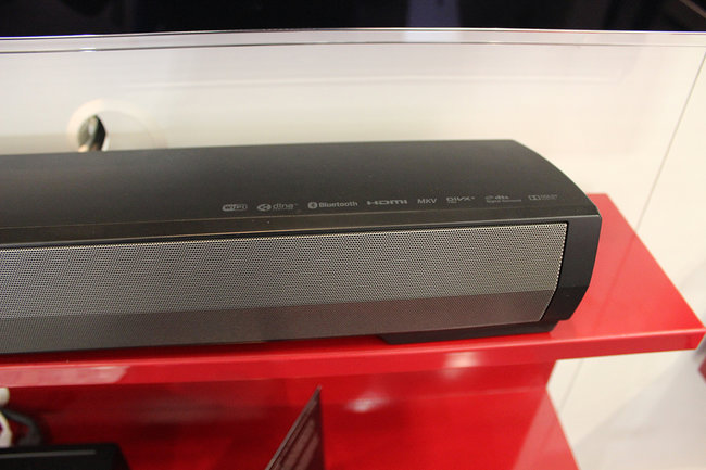 Pioneer's new SBX-N700 speaker bar and Bluetooth player gets the hands-on treatment - photo 10