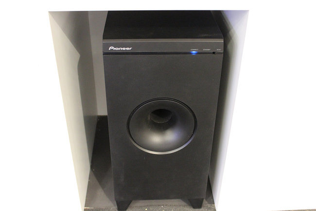 Pioneer's new SBX-N700 speaker bar and Bluetooth player gets the hands-on treatment - photo 11