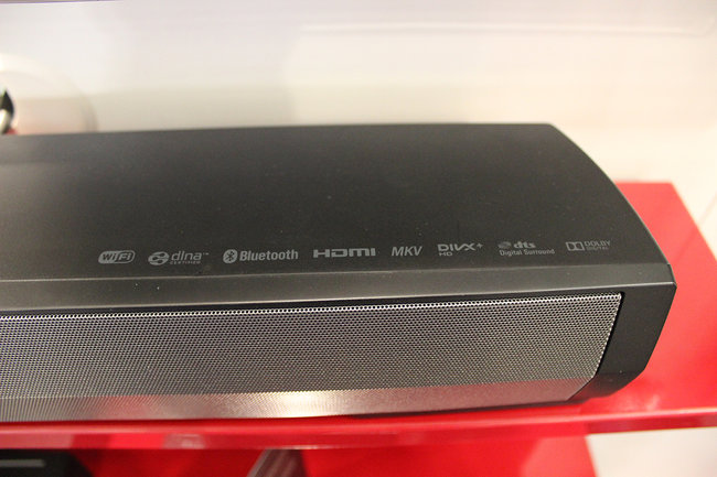Pioneer's new SBX-N700 speaker bar and Bluetooth player gets the hands-on treatment - photo 4