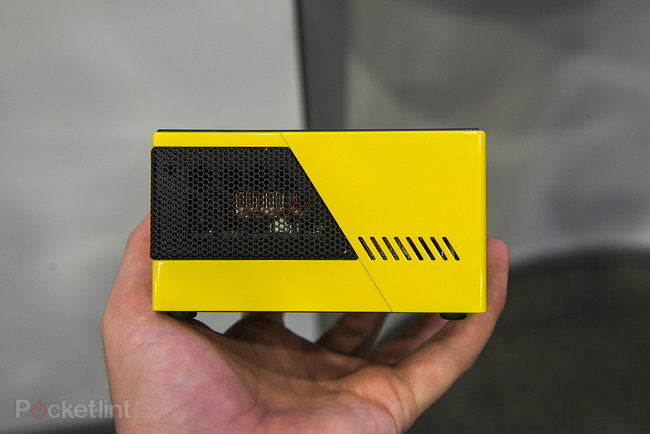 Gigabyte Brix pocket gaming PC with Intel Iris Pro graphics, looks slick in yellow - photo 3
