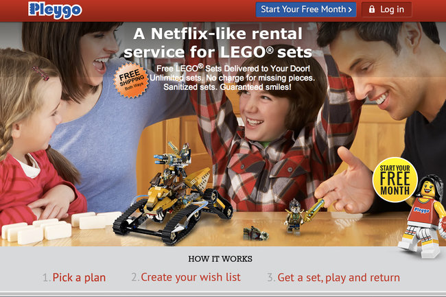 Pleygo: The Netflix-style Lego rental service - photo 1