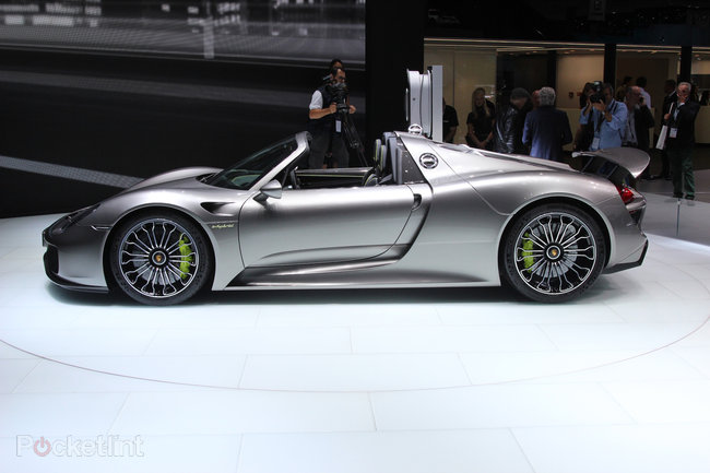 Porsche 918 Spyder pictures and hands-on - photo 2