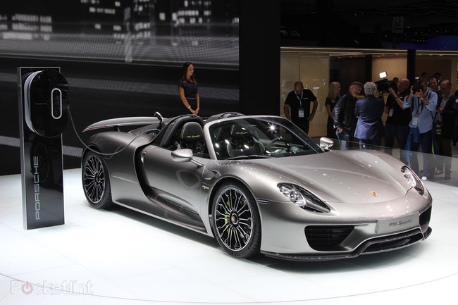 Porsche 918 Spyder pictures and hands-on - photo 6