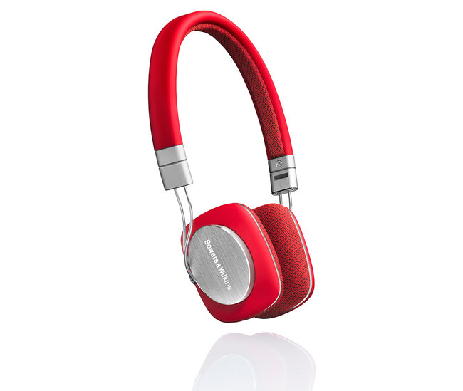 Bower & Wilkins P3 headphones get a lick of rouge in red makeover - photo 2