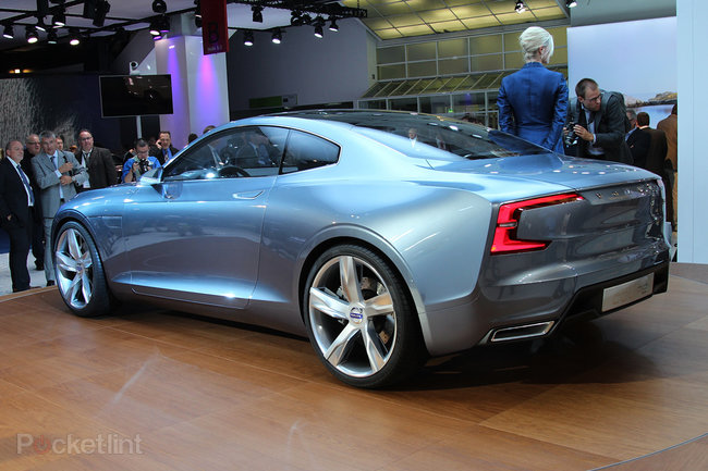Volvo Concept Coupe hands-on, the new face of Sweden's finest - photo 3