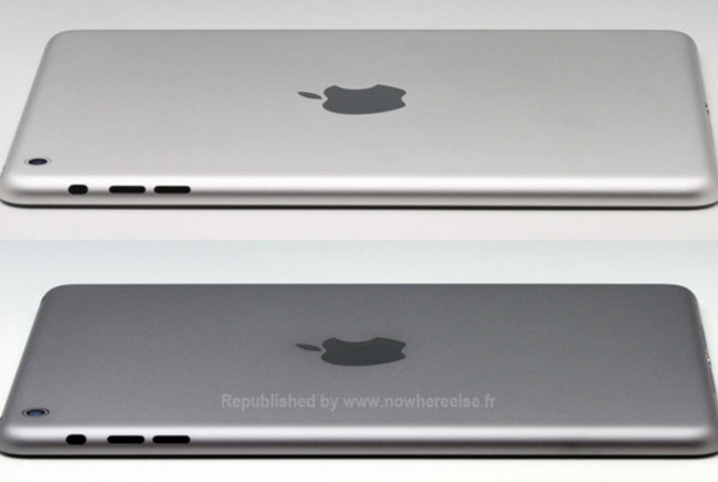 Apple's iPad mini 2 surfaces in same 'space grey' colour as iPhone 5S - photo 1