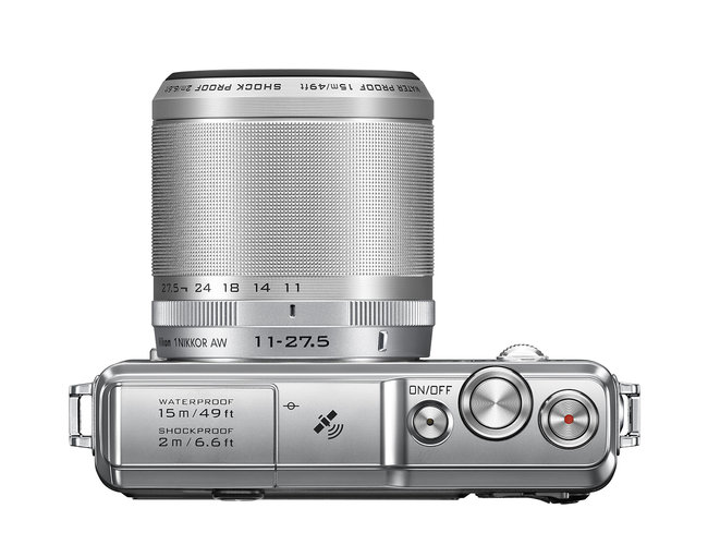 Nikon 1 goes waterproof with AW1, the first submersible compact system camera - photo 3