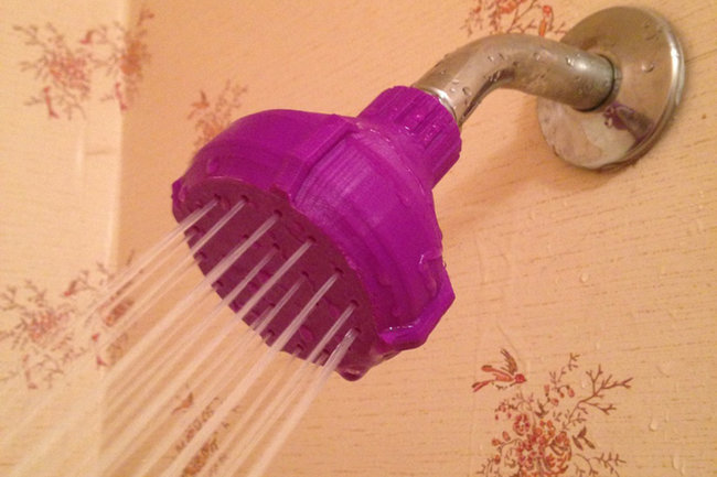 Broken shower head? Don't buy a new one, just 3D print yourself a replacement - photo 1