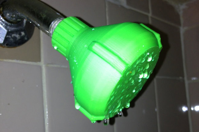 Broken shower head? Don't buy a new one, just 3D print yourself a replacement - photo 2