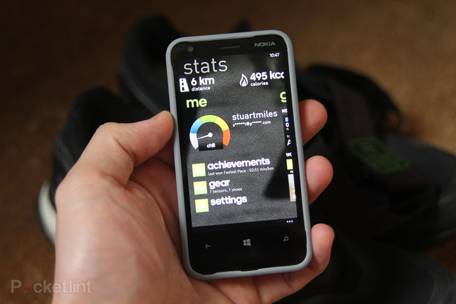 Adidas miCoach (Windows Phone 8) with Adidas heart rate monitor review - photo 4