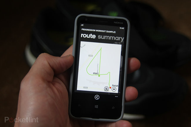 Adidas miCoach (Windows Phone 8) with Adidas heart rate monitor review - photo 9