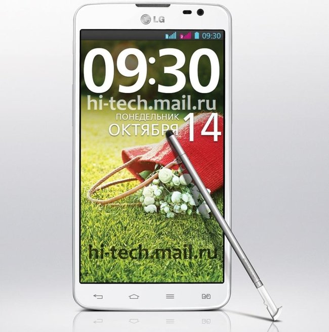 LG Pro Lite Dual unveiled, cheap 5.5-inch Galaxy Note rival with a stylus - photo 2