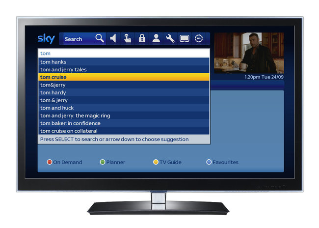 Sky enhances search features for Sky+HD boxes - photo 1