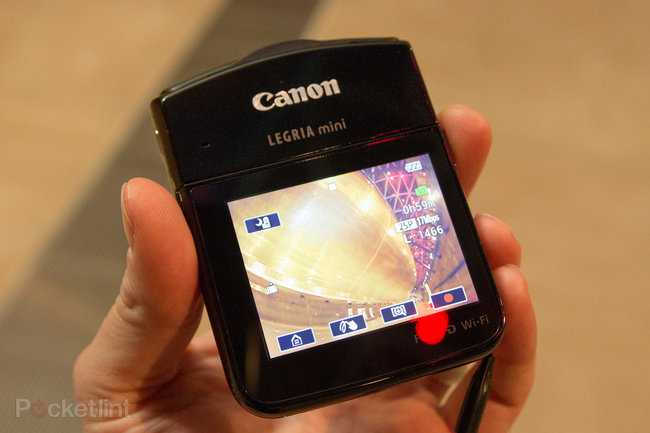 Canon Legria mini hands-on and sample video: The social camcorder - photo 1