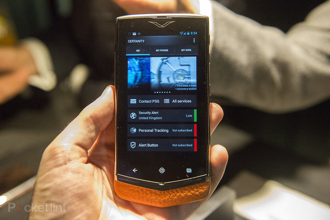 Vertu Constellation hands-on, we handle the £4,200 fashion phone - photo 5
