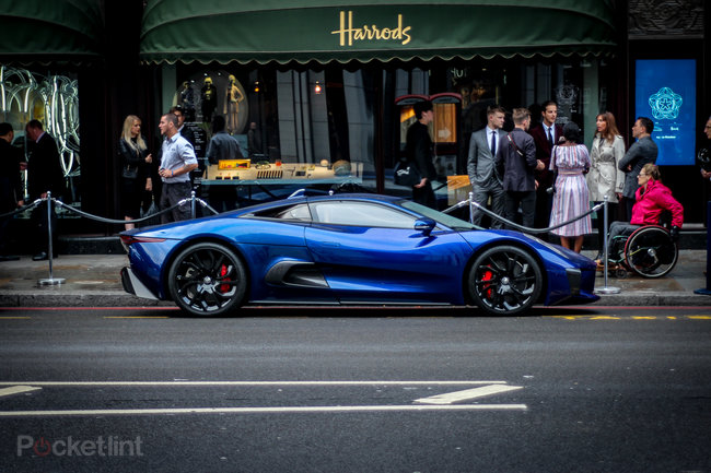 Jaguar C-X75 pictures and eyes-on - photo 1