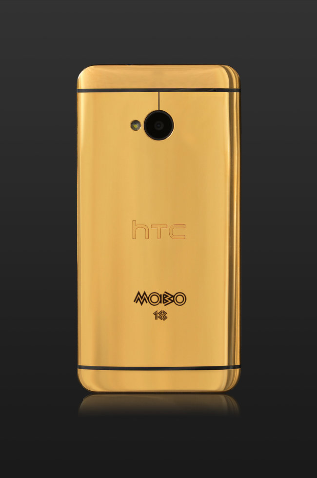 Gold HTC One official: Limited edition model goes to MOBO winners - photo 2