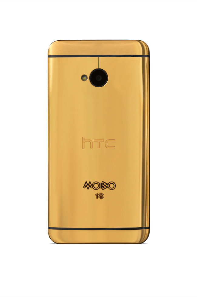 Gold HTC One official: Limited edition model goes to MOBO winners - photo 3
