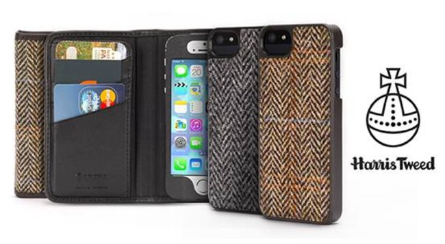 How posh: Griffin offers genuine Harris Tweed Wallet and Harris Tweed Case for iPhone 5/5S - photo 2