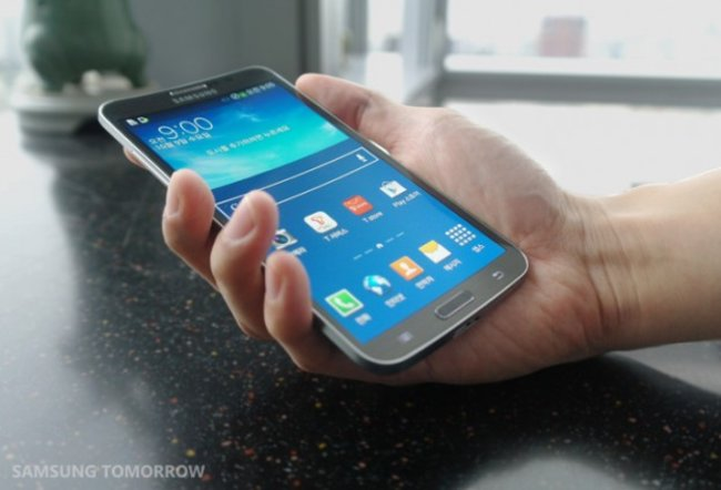 Samsung officially announces Galaxy Round, featuring curved OLED display - photo 7