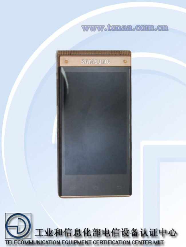 New Samsung flip-phone SM-W2014 arrives without warning, with Snapdragon 800 processor - photo 4